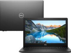 """O Notebook Dell Inspiron i15-3583-A2XP possui processador Intel Core i5 (8265U) de 1.6 GHz a 3.9 GHz e 6MB cache, 4GB de memória RAM (DDR4 2666MHz - velocidade máxima de 2400MHz devido ao barramento do processador- 2 slots expansível até 32GB), SSD de 256GB, Tela LED HD de 15,6"""" antirreflexiva e resolução máxima de 1366 x 768, Placa de Vídeo integrada Intel UHD Graphics 620, Conexões USB e HDMI, Wi-Fi 802.11 b/g/n/ac, Webcam (720p), Não possui Drive de DVD, Bateria de 3 células (42Wh), Peso aproximado de 2,03kg e Windows 10 64 bits."""