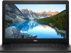 """O Notebook Dell Inspiron I15-3583-FS1P possui processador Intel Core i5 (8265U) de 1.6 GHz a 3.9 GHz e 6MB cache, 8GB de memória RAM (DDR4 2666MHz - velocidade máxima de 2400MHz devido ao barramento do processador), SSD de 256GB (M.2), Tela LED HD de 15,6"""" antirreflexiva e resolução máxima de 1366 x 768, Placa de Vídeo integrada Intel UHD Graphics 620, Conexões USB e HDMI, Wi-Fi 802.11 b/g/n/ac, Webcam (720p), Não possui Drive de DVD, Bateria de 3 células (42Wh), Peso aproximado de 2,03kg e Sistema Operacional Windows 10 de 64 bits."""
