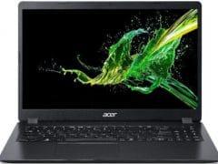 """O Notebook Acer Aspire 3 A315-54-53WJ NX.HQ2AL.003 possui processador Intel Core i5 (10210U - 10ª Geração) de 1.6 GHz a 4.2 GHz e 6 MB cache, 4GB de memória RAM (DDR4 - 4Gb soldada e 1 slot livre - expansível até 20GB), HD de 1 TB (5400 RPM) e 1 slot m.2 2280 livre, Tela LED HD de 15,6"""" antirreflexiva com resolução máxima de 1366 x 768, Placa de Vídeo integrada Intel UHD Graphics, Conexões USB e HDMI, Wi-Fi 802.11 b/g/n/ac, Não possui Drive de DVD, Bateria de 3 células (37Wh), Peso aproximado de 1,9kg e Sistema Operacional Windows 10 64 bits."""