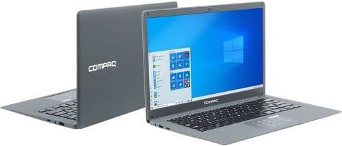 """O Notebook HP Compaq Presario CQ-25 possui processador Intel Pentium (N3700) de 1.6 GHz a 2.4 GHz e 2 MB cache, 4GB de memória RAM (LPDDR3 1600MHz - expansível até 8GB), SSD de 120GB, Tela LED HD de 14"""" com resolução máxima de 1366x768, Placa de vídeo integrada Intel HD Graphics, Conexões USB e HDMI, Wi-fi b/g/n, não possui Drive de DVD, Bateria de 4000mAh, Peso aproximado de 1,273kg e Windows 10 64 bits."""