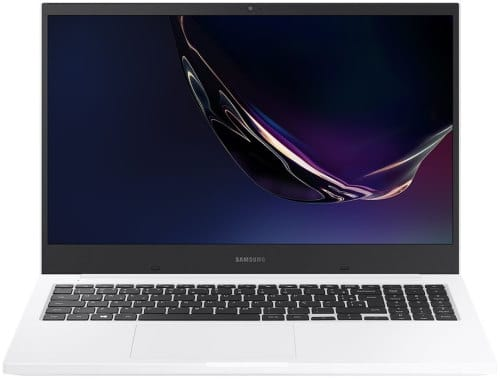 """O Noteboook Samsung Book E30 NP550XCJ-KT2BR possui processador Intel Core i3 (10110U) de 2.1 GHz a 4.1 GHz e 4 MB cache, 4GB de memória RAM (DDR4 - 4Gb x 1 sendo 2 slots e 1 livre), HD de 1 TB (5400 RPM) e 1 slot m.2 livre, Tela LED Full HD de 15,6"""" antirreflexiva com resolução máxima de 1920 x 1080, Placa de Vídeo integrada Intel UHD Graphics, Conexões USB e HDMI, Wi-Fi 802.11 b/g/n/ac, Não possui Drive de DVD, Bateria de 3 células (43Wh), Peso aproximado de 1,94kg e Sistema Operacional Windows 10 64 bits."""