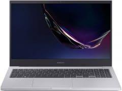 """O Notebook Samsung Book X45 NP550XCJ-XF3BR possui processador Intel Core i5 (10210U - 10ª Geração) de 1.6 GHz a 4.2 GHz e 6 MB cache, 8GB de memória RAM (DDR4 - 8Gb x 1 sendo 2 slots e 1 livre), SSD de 256 GB NVMe, Tela LED HD de 15,6"""" antirreflexiva com resolução máxima de 1366 x 768, Placa de Vídeo integrada Intel UHD Graphics e NVIDIA Geforce MX110 com 2GB de memória dedicada (GDDR5), Conexões USB e HDMI, Wi-Fi 802.11 b/g/n/ac, Não possui Drive de DVD, Bateria de 3 células (43Wh), Peso aproximado de 1,94kg e Sistema Operacional Windows 10 64 bits."""
