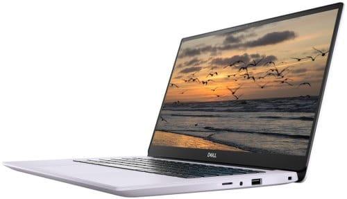 """O Notebook Ultrafino Dell Inspiron I14-5490-A40L possui processador Intel Core i7 (10510U - 10ª Geração) de 1.8 GHz a 4.9 GHz e 8 MB cache, 16GB de memória RAM (DDR4 2666 MHz - 16GB x 1), SSD 256GB PCIe NVMe M.2, Tela LED Full HD de 14"""" antirreflexiva com resolução máxima de 1920 x 1080 e bordas finas, Placa de Vídeo integrada Intel UHD Graphics e NVIDIA Geforce MX230 com 2GB de memória dedicada (GDDR5), Conexões USB e HDMI, Wi-Fi 802.11 b/g/n/ac, Não possui Drive de DVD, Bateria de 3 células (51Wh), Peso aproximado de 1,42kg e Sistema Operacional Windows 10 de 64 bits."""