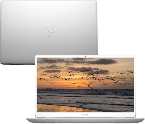 """O Notebook Dell Inspiron i14-5490-A30S possui processador Intel Core i7 (10510U - 10ª Geração) de 1.8 GHz a 4.9 GHz e 8 MB cache, 8GB de memória RAM (DDR4 2666 MHz - 8GB x 1), SSD 256GB PCIe NVMe M.2, Tela LED Full HD de 14"""" antirreflexiva com resolução máxima de 1920 x 1080 e bordas finas, Placa de Vídeo integrada Intel UHD Graphics e NVIDIA Geforce MX230 com 2GB de memória dedicada (GDDR5), Conexões USB e HDMI, Wi-Fi 802.11 b/g/n/ac, Não possui Drive de DVD, Bateria de 3 células (51Wh), Peso aproximado de 1,42kg e Sistema Operacional Windows 10 de 64 bits."""
