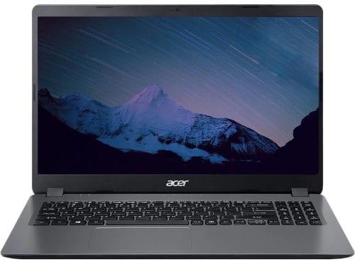 """O Notebook Acer Aspire 3 A315-54K-53ZP possui processador Intel Core (i5-6300U) de 2.40 GHz a 3.00 GHz e 3 MB cache, memória de 4 GB DDR4, HD de 1TB, Tela 15.6"""" polegadas HD (1366 x 768 pixels) Acer CineCrystal™ Placa de Vídeo Gráficos HD Intel® 520, Conexões USB e HDMI, placa de rede wireless, bluetooth v4.2, Não possui Drive de DVD, Bateria de 3 células, Peso aproximado de 1,90Kg e Sistema Operacional Windows® 10 Home de 64 bits."""