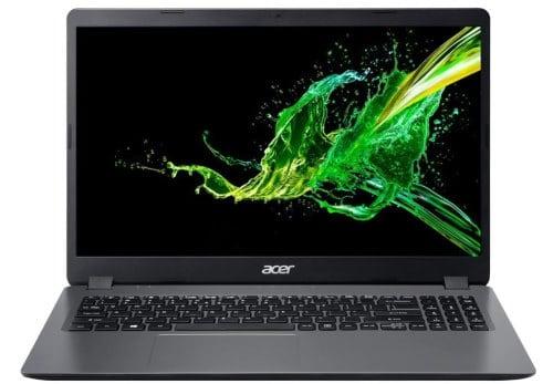 """O Notebook Acer Aspire A315-56-35ET possui processador Intel Core i3 (1005G1) de 1.20 GHz a 3.40 e 4 MB cache, 8 GB DDR4 (4GB Soldada + 4GB Módulo), SSD de 512GB, Tela 15.6"""" polegadas HD (1366 x 768 pixels) Acer CineCrystal™ antirreflexiva com resolução máxima de 1920 x 1080 e bordas finas, Placa de Vídeo integrada Intel® UHD Graphics com memória compartilhada com a memória RAM, Conexões USB e HDMI, IEEE 802.11 a / b/ g / n / ac, Não possui Drive de DVD, Bateria de 3 células, Peso aproximado de 1,90kg e Sistema Operacional Windows® 10 Home de 64 bits."""