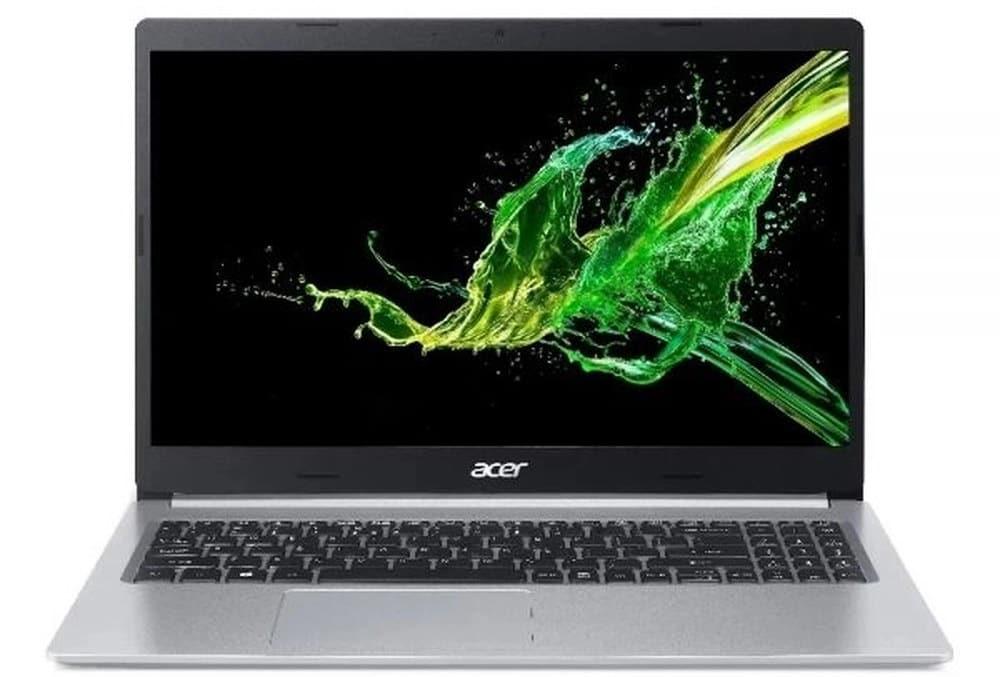 """O Notebook Acer Aspire 5 A515-54-587L possui processador Intel Core i5 (10210U) de 1.60 GHz a 4.20 GHz e 6 MB cache, memória de 8 GB DDR4, SSD de 256GB, Tela 15,6"""" polegadas LED LCD com design ultrafino, HD (1366x768 pixels) 16:9, Anti reflexo, 60 Hz, 8 ~ 11ms, Placa de Vídeo Intel® UHD Graphics com memória compartilhada com a memória RAM, Conexões USB e HDMI, placa de rede wireless, bluetooth v4.1, Não possui Drive de DVD, Bateria de 4 células, Peso aproximado de 1,80Kg e Sistema Operacional Windows® 10 Home de 64 bits."""