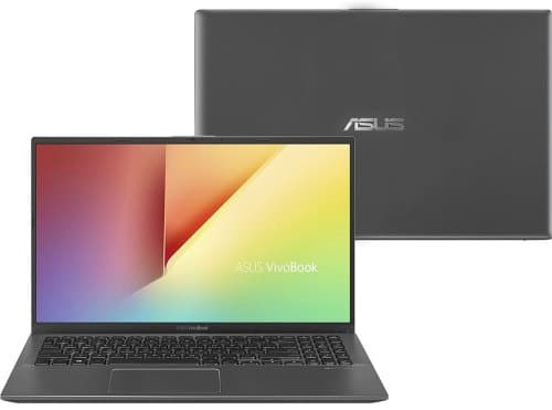 """O Notebook ASUS VivoBook 15 X512FB-BR468T possui processador Intel Core (i5-8265U) de 1.60 GHz a 3.90 GHz e 6 MB cache, memória de 8 GB DDR4, HD de 1TB, Tela 15,6"""" polegadas (16:9) LED-retroiluminada HD (1366x768 pixels) 60Hz Antirreflexiva Painel 45% NTSC Placa de Vídeo NVIDIA® GeForce® MX110 Graphics com GDDR5 2GB Memória Gráfica, Conexões USB e HDMI, placa de rede wireless, bluetooth v4.1, Não possui Drive de DVD, Bateria de 2 células, Peso aproximado de 1,75Kg e Sistema Operacional Windows® 10 Home de 64 bits."""