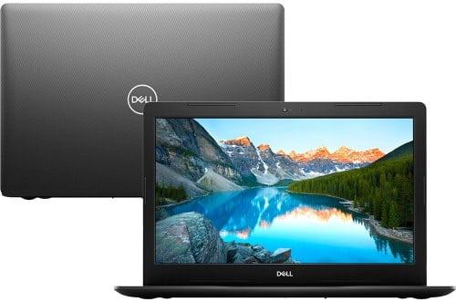 """O Notebook Dell Inspiron i15-3583-A5XP possui processador Intel Core i7 (8565U) de 1.80 GHz a 4.60 GHz e 8 MB cache, memória de 8 GB DDR4, HD de 2TB, Tela 15,6"""" polegadas HD (1366 x 768 pixels), antirreflexo e retroiluminação por LED, Placa de Vídeo Intel® UHD Graphics 620, Conexões USB e HDMI, placa de rede wireless, bluetooth v4.1, Não possui Drive de DVD, Bateria de 3 células, Peso aproximado de 2,03Kg e Sistema Operacional Windows® 10 Home de 64 bits."""
