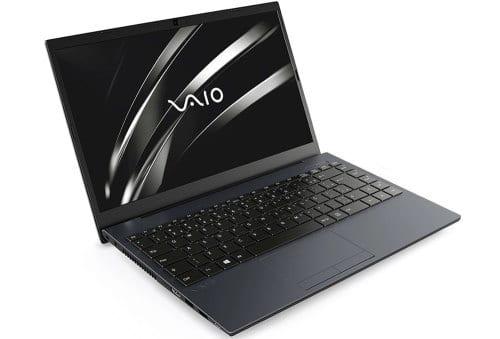"""O Notebook VAIO FE14 VJFE42F11X-B0381H possui processador Intel Core i5 (10210U) de 1.60 GHz a 4.20 GHz e 6 MB cache, memória de 8 GB DDR4, SSD de 256GB, Tela 14"""" polegadas LCD, Widescreen, Antirreflexiva com resolução 1920 x 1080 pixels Full HD, com tecnologia LED, Placa de Vídeo Intel® UHD Graphics com memória compartilhada com a memória RAM, Conexões USB e HDMI, placa de rede wireless, bluetooth v5.0, Não possui Drive de DVD, Bateria de 3 células, Peso aproximado de 1,55Kg e Sistema Operacional Windows® 10 Home de 64 bits."""