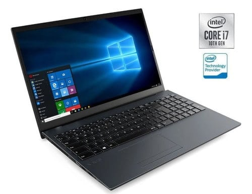 """O Notebook VAIO FE15 VJFE52F11X-B0811H possui processador Intel Core i7 (10510U) de 1.80 GHz a 4.90 GHz e 8 MB cache, memória de 8 GB DDR4, SSD de 256GB, Tela 15"""" polegadas LCD, Widescreen , Antirreflexiva com resolução 1920 x 1080 pixels Full HD, com tecnologia LED, Placa de Vídeo Intel® UHD Graphics com memória compartilhada com a memória RAM, Conexões USB e HDMI, placa de rede wireless, bluetooth v5.0, Não possui Drive de DVD, Bateria de 3 células, Peso aproximado de 1,75Kg e Sistema Operacional Windows® 10 Home de 64 bits."""