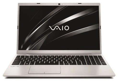 """O Notebook VAIO FE15 VJFE52F11X-B1111S MAO possui processador Intel Core i5 (10210U) de 1.60 GHz a 4.20 GHz e 6 MB cache, memória de 8 GB DDR4, SSD de 256GB, Tela 15"""" polegadas LCD, Widescreen , Antirreflexiva com resolução 1920 x 1080 pixels Full HD, com tecnologia LED, Placa de Vídeo Intel® UHD Graphics com memória compartilhada com a memória RAM, Conexões USB e HDMI, placa de rede wireless, bluetooth v5.0, Não possui Drive de DVD, Bateria de 3 células, Peso aproximado de 1,75Kg e Sistema Operacional Windows® 10 Home de 64 bits."""