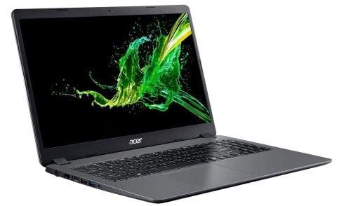 """O Notebook Acer Aspire 3 A315-54K-39SSD possui processador Intel Core i3 (8130U) de 2.20 GHz a 3.40 GHz e 4 MB cache, memória de 12 GB DDR4, SSD de 240GB + HD de 1TB, Tela 15,6"""" polegadas LED LCD, HD (1366x768 pixels), 60 Hz, 8 ~ 11ms, Placa de Vídeo Gráficos HD Intel® 620, Conexões USB e HDMI, placa de rede wireless, bluetooth v4.2, Não possui Drive de DVD, Bateria de 3 células, Peso aproximado de 1,90Kg e Sistema Operacional Windows® 10 Home de 64 bits."""
