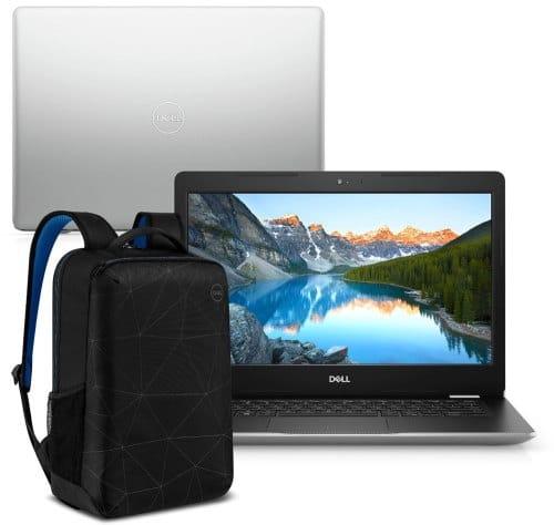 """O Notebook Dell Inspiron i14-3481-M40SB possui processador Intel Core i3 (8130U) de 2.20 GHz a 3.40 GHz e 4 MB cache, memória de 4 GB DDR4, HD de 1TB, Tela 14"""" polegadas LED HD antirreflexo (1366 x 768 pixels), Placa de Vídeo Intel® UHD Graphics 620, Conexões USB e HDMI, placa de rede wireless, bluetooth v4.1, Não possui Drive de DVD, Bateria de 3 células, Peso aproximado de 1,71Kg e Sistema Operacional Windows® 10 Home de 64 bits."""
