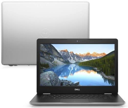 """O Notebook Dell Inspiron i14-3481-U30S possui processador Intel Core i3 (8130U) de 2.20 GHz a 3.40 GHz e 4 MB cache, memória de 4 GB DDR4, HD de 1TB, Tela 14"""" polegadas LED HD antirreflexo (1366 x 768 pixels), Placa de Vídeo Intel® UHD Graphics 620, Conexões USB e HDMI, placa de rede wireless, bluetooth v4.1, Não possui Drive de DVD, Bateria de 3 células, Peso aproximado de 1,71Kg e Sistema Operacional Ubuntu Linux® de 64 bits."""