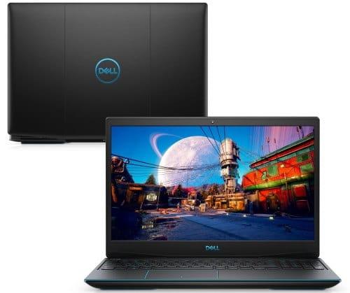 """O Notebook Gamer Dell G3 3500-D15P possui processador Intel Core i5 (10300H) de 2.50 GHz a 4.50 GHz e 8 MB cache, memória de 8 GB DDR4, SSD de 512GB, Tela 15,6"""" polegadas Full HD WVA (1920 x 1080 pixels), 120Hz, 250 nits, antirreflexo, retroiluminado e borda fina, Placa de Vídeo NVIDIA® GeForce™ GTX 1650 com 4GB de GDDR5, Conexões USB e HDMI, placa de rede wireless, bluetooth v5.0, Não possui Drive de DVD, Bateria de 3 células, Peso aproximado de 2,34Kg e Sistema Operacional Ubuntu Linux® 18.04 de 64 bits."""