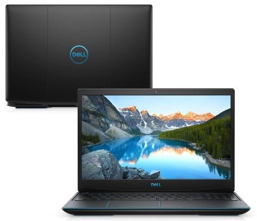 """O Notebook Gamer Dell G3 3500-M10P possui processador Intel Core i5 (10300H) de 2.50 GHz a 4.50 GHz e 8 MB cache, memória de 8 GB DDR4, SSD de 256GB, Tela 15,6"""" polegadas Full HD WVA (1920 x 1080 pixels), 120Hz, 250 nits, antirreflexo, retroiluminado e borda fina, Placa de Vídeo NVIDIA® GeForce™ GTX 1650 com 4GB de GDDR5, Conexões USB e HDMI, placa de rede wireless, bluetooth v5.0, Não possui Drive de DVD, Bateria de 3 células, Peso aproximado de 2,34Kg e Sistema Operacional Windows® 10 Home de 64 bits."""