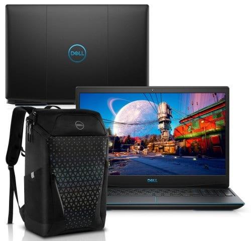 """O Notebook Gamer Dell G3 3500-M15PB possui processador Intel Core i5 (10300H) de 2.50 GHz a 4.50 GHz e 8 MB cache, memória de 8 GB DDR4, SSD de 512GB, Tela 15,6"""" polegadas Full HD WVA (1920 x 1080 pixels), 120Hz, 250 nits, antirreflexo, retroiluminado e borda fina, Placa de Vídeo NVIDIA® GeForce™ GTX 1650 com 4GB de GDDR5, Conexões USB e HDMI, placa de rede wireless, bluetooth v5.0, Não possui Drive de DVD, Bateria de 3 células, Peso aproximado de 2,34Kg e Sistema Operacional Windows® 10 Home de 64 bits."""