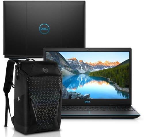 """O Notebook Gamer Dell G3 3500-M20PB possui processador Intel Core i5 (10300H) de 2.50 GHz a 4.50 GHz e 8 MB cache, memória de 8 GB DDR4, SSD de 512GB, Tela 15,6"""" polegadas Full HD WVA (1920 x 1080 pixels), 120Hz, 250 nits, antirreflexo, retroiluminado e borda fina, Placa de Vídeo NVIDIA® GeForce™ GTX 1650 Ti com 4GB de GDDR6, Conexões USB e HDMI, placa de rede wireless, bluetooth v5.0, Não possui Drive de DVD, Bateria de 3 células, Peso aproximado de 2,34Kg e Sistema Operacional Windows® 10 Home de 64 bits."""