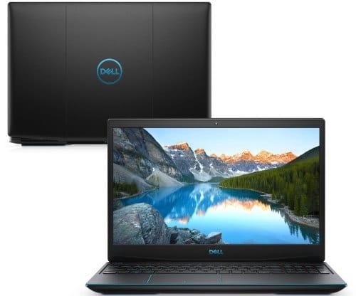 """O Notebook Gamer Dell G3 3500-U10P possui processador Intel Core i5 (10300H) de 2.50 GHz a 4.50 GHz e 8 MB cache, memória de 8 GB DDR4, SSD de 256GB, Tela 15,6"""" polegadas Full HD WVA (1920 x 1080 pixels), 120Hz, 250 nits, antirreflexo, retroiluminado e borda fina, Placa de Vídeo NVIDIA® GeForce™ GTX 1650 com 4GB de GDDR5, Conexões USB e HDMI, placa de rede wireless, bluetooth v5.0, Não possui Drive de DVD, Bateria de 3 células, Peso aproximado de 2,34Kg e Sistema Operacional Ubuntu Linux® 18.04 de 64 bits."""
