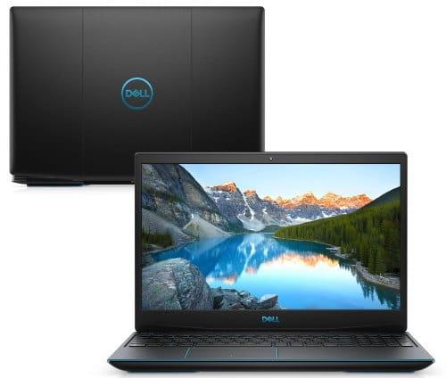 """O Notebook Gamer Dell G3 3500-U20P possui processador Intel Core i5 (10300H) de 2.50 GHz a 4.50 GHz e 8 MB cache, memória de 8 GB DDR4, SSD de 512GB, Tela 15,6"""" polegadas Full HD WVA (1920 x 1080 pixels), 120Hz, 250 nits, antirreflexo, retroiluminado e borda fina, Placa de Vídeo NVIDIA® GeForce™ GTX 1650 Ti com 4GB de GDDR6, Conexões USB e HDMI, placa de rede wireless, bluetooth v5.0, Não possui Drive de DVD, Bateria de 3 células, Peso aproximado de 2,34Kg e Sistema Operacional Ubuntu Linux® 18.04 de 64 bits."""