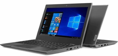 """O Notebook Lenovo Thinkpad 100E 81M8S01400 possui processador Intel Celeron (N4000) de 1.10 GHz a 2.60 GHz e 4 MB cache, memória de 4 GB LPDDR4, eMMC de 64 GB, Tela 11.6"""" polegadas HD (1366x768 pixels) Antirreflexo, Placa de Vídeo Gráficos UHD Intel® 600, Conexões USB e HDMI, placa de rede wireless, bluetooth v4.2, Não possui Drive de DVD, Bateria de 3 células, Peso aproximado de 1,21Kg e Sistema Operacional Windows® 10 Pro de 64 bits."""